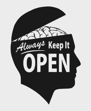 Blog Ideas Come from an Open Mind